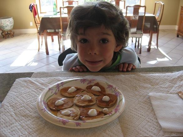 Xavier summer pancake