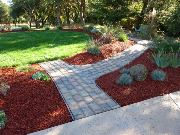how to put sand down for pavers