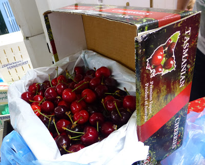 Tasmanian cherries