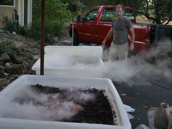 2014 winemaking